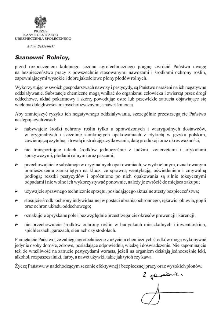 plakat Prezesa bezpieczne stosowanie środków ochrony roślin1.jpeg