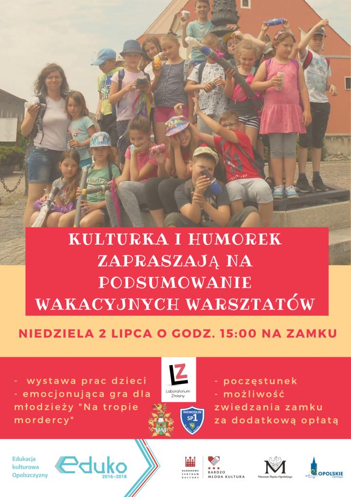 Kulturka i Humorek zapraszają na podsumowanie wakacyjnych warsztatów na zamku2.png