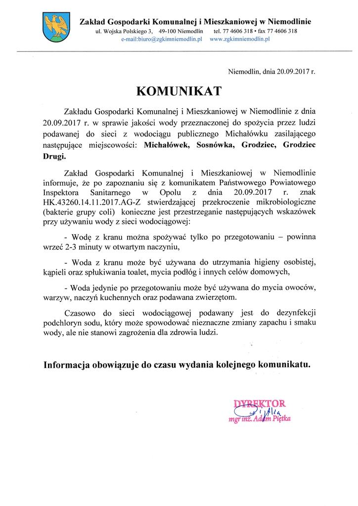 Komunikat Michałówek.jpeg