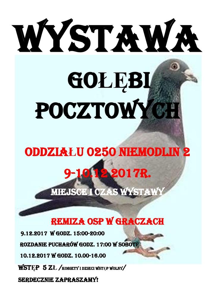 WYSTAWA GOŁĘBI POCZTOWYCH 2015 plakatA31.jpeg