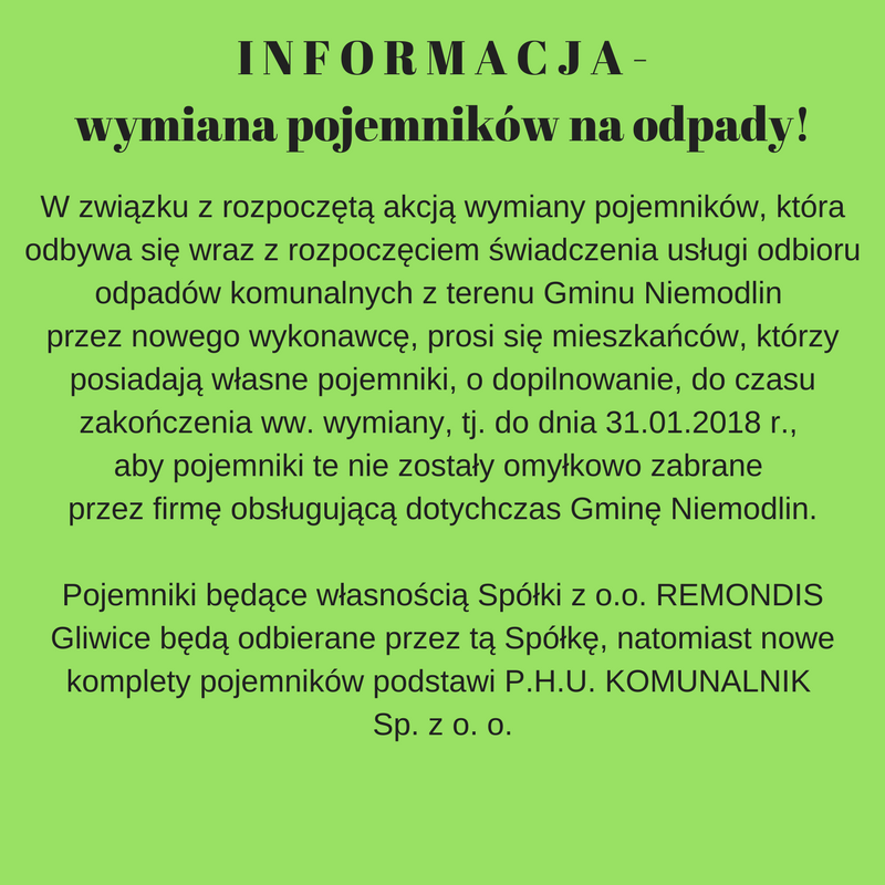 I N F O R M A C J A - wymiana pojemników na odpady!.png