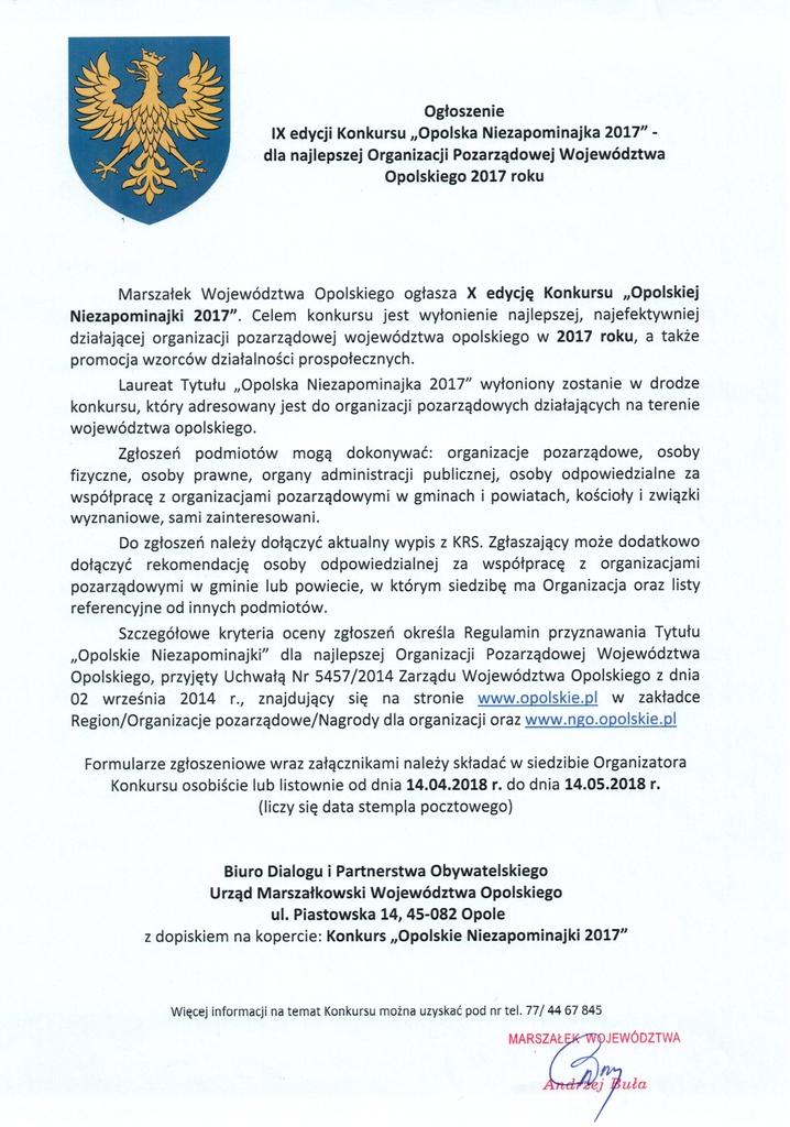 ogłoszenie Konkursu Opolska Niezapominajka 20171.jpeg