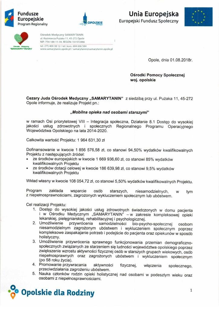 Pismo z informacją o projekcie_Mobilna opieka nad osobami starszymi_OM Samarytanin1.jpeg
