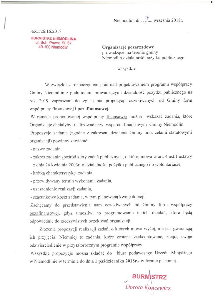 Pismo Burmistrza - dane do programu wspołp.1.jpeg