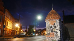 Galeria Mury i basteja przed Zamkiem Książęcym odrestaurowane i doświetlone