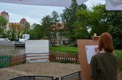 Galeria Plener plastyczny przed Zamkiem Książęcym Niemodlin