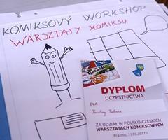 Galeria Polsko - Czeskie Warsztaty Komiksowe - 2017
