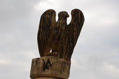 Galeria Drewniane rzeźby przy Stawie Zamkowym
