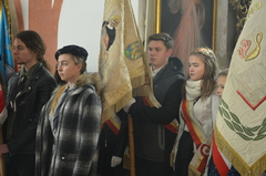 Galeria Msza św. w intencji Ojczyzny i pieśni patriotyczne w dniu 11 listopada