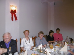 Galeria Świąteczno - noworoczne spotkanie Uniwersytetu Trzeciego Wieku