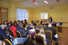 Galeria Spotkanie społeczności szkolnej i wsi w Grabinie