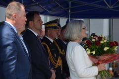 Galeria Zdanie obowiązków przez Komendanta PSP w Opolu