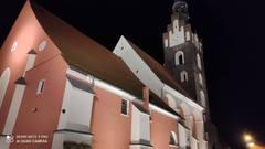 Galeria iluminacja kościoła